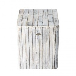 Patio Sense Michael Square Garden Stool (62733)
