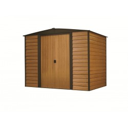 Euro Dallas (Woodridge) 6'x5' Steel Storage Shed