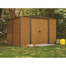 Euro Dallas (Woodridge) 10'x12' Steel Storage Shed