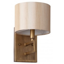 Catena Antique Gold 9.5-inch H Sconce