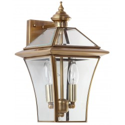 Virginia Brass 14.5-inch H Double Light Sconce