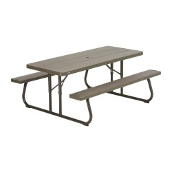 Lifetime Lifetime 6-Foot Classic Folding Picnic Table (60112)