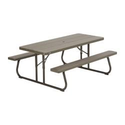 Lifetime 6-Foot Classic Folding Picnic Table (60112)
