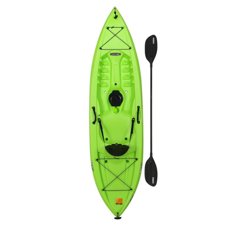 Lifetime Tahoma 100 Sit-On-Top Kayak w/ Paddle - Lime Green (90816)