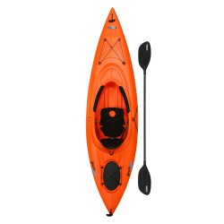 Lifetime Lancer 100 Sit-In Kayak w/ Paddle - Orange (90817)