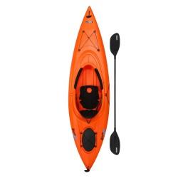 Lifetime Lancer 100 Sit-In Kayak w/ Paddle - Orange (90817)