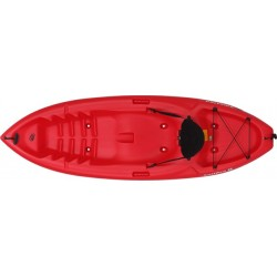 Lifetime Emotion Spitfire 8 Sit-On-Top Kayak - Red (90244)