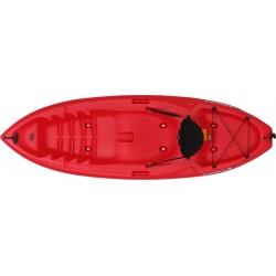 Lifetime Emotion Spitfire 8 Sit-On-Top Kayak - Red (90244)