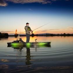 Lifetime Stealth Pro Angler 118 Fishing Kayak - Gator Camo (90693)
