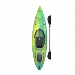 Lifetime Emotion Tide Sit-Inside Kayak w/ Paddle  - Lemongrass Fusion (90848)
