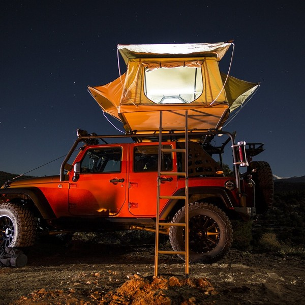 Smittybilt Overlander XL Jeep Roof Top Tent W/ Foam