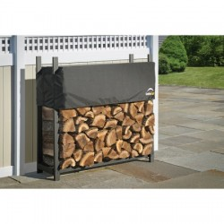 Shelter Logic 4 ft Ultra Duty Firewood Rack Cover (90474)