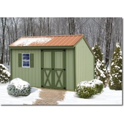 Best Barns Aspen 10x8 Wood Storage Shed Kit (AS108)