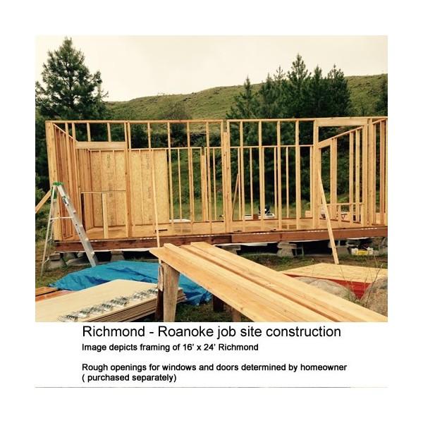 Best Barns Richmond 16x20 Wood Storage Shed Kit Richmond1620