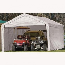 ShelterLogic 12×30 Canopy Enclosure Kit - White (25779)