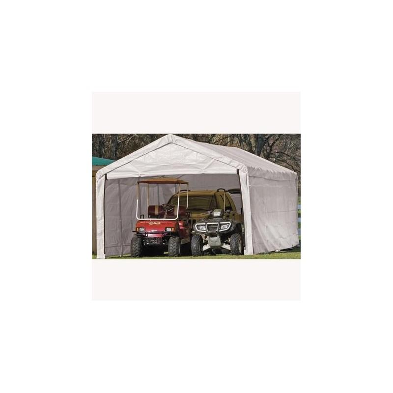 ShelterLogic 12×30 Canopy Enclosure Kit - White (25779)