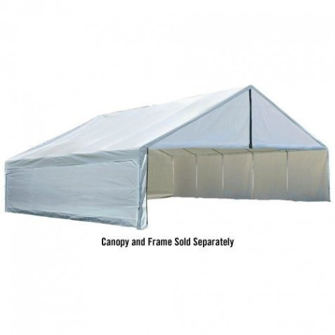 ShelterLogic 30x40 Canopy Enclosure Kit - White (27776)