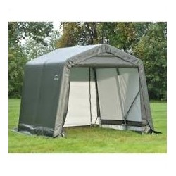 ShelterLogic 8x8x8 Peak Style Shelter, Grey (71802)