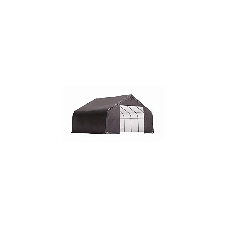ShelterLogic 11x8x10 Peak Style Shelter, Grey (72853)