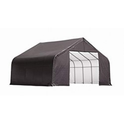 ShelterLogic 11x12x10 Peak Style Shelter - Grey (72863)