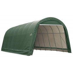 ShelterLogic 15x28x12 Round Style Shelter Kit - Green (95334)