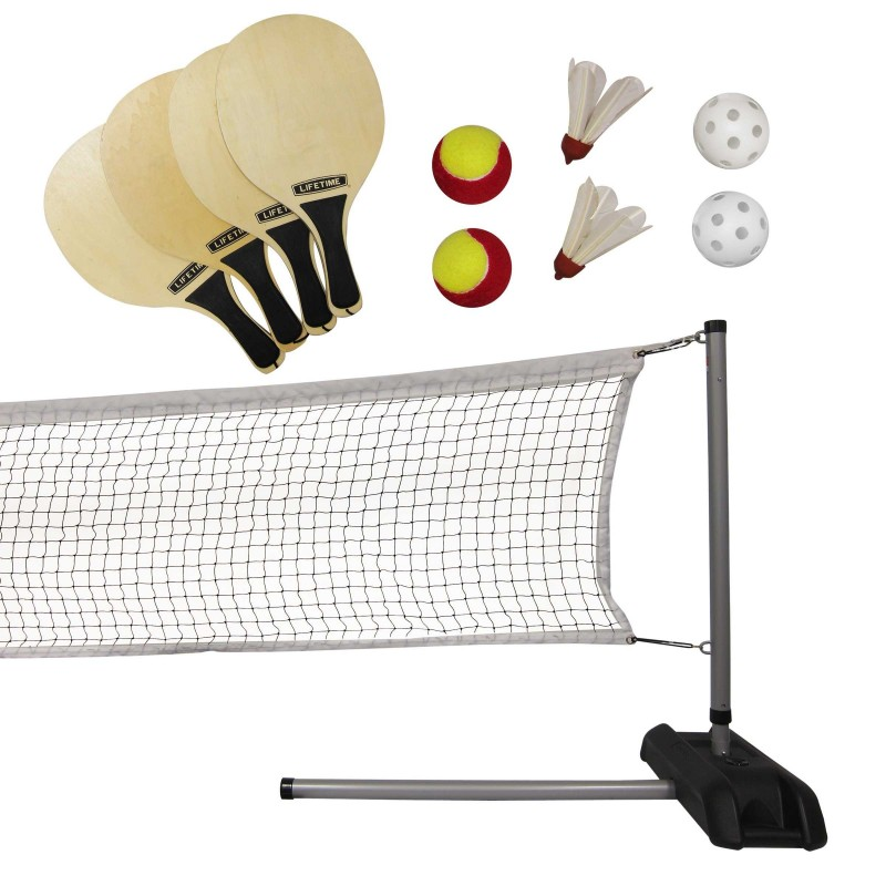 Lifetime Outdoor Games Set with Paddles (90421)