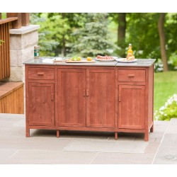 Leisure Season Buffet Server With Cooler Compartment (BS1536)