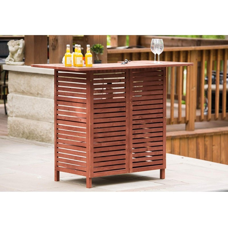 Leisure Season Outdoor Bar With Storage (OB4727)