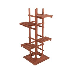Leisure Season 6-Tier Wooden Pedestal Plant Stand (PS6116)