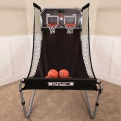 Lifetime Double Shot Arcade Style Basketball Hoops Game - Heavy Duty 90056