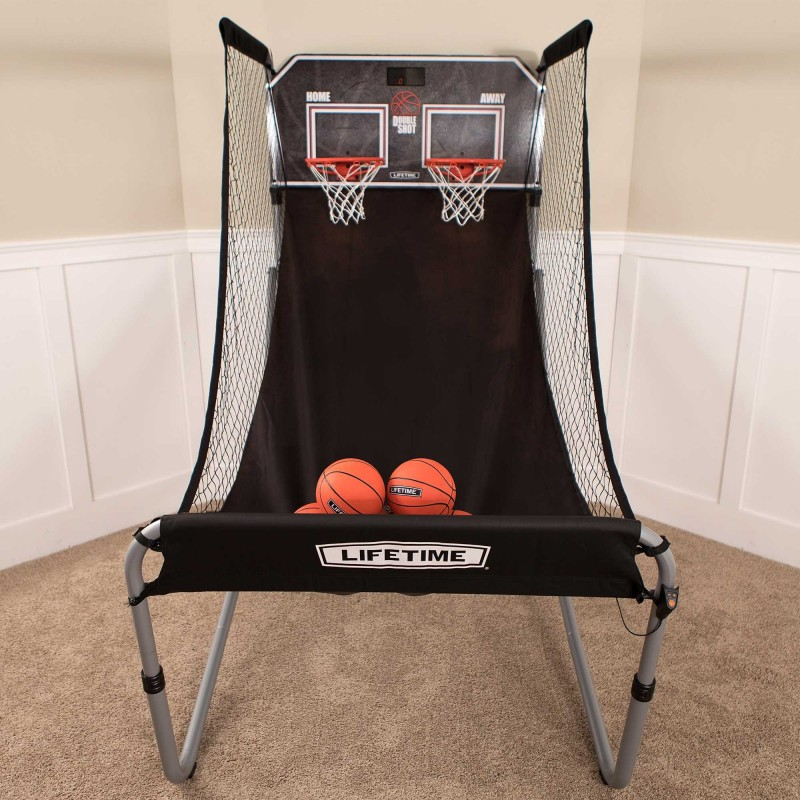Lifetime Double Shot Arcade Style Basketball Hoops Game