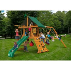 Gorilla High Point Cedar Wood Swing Set Kit (01-0040)