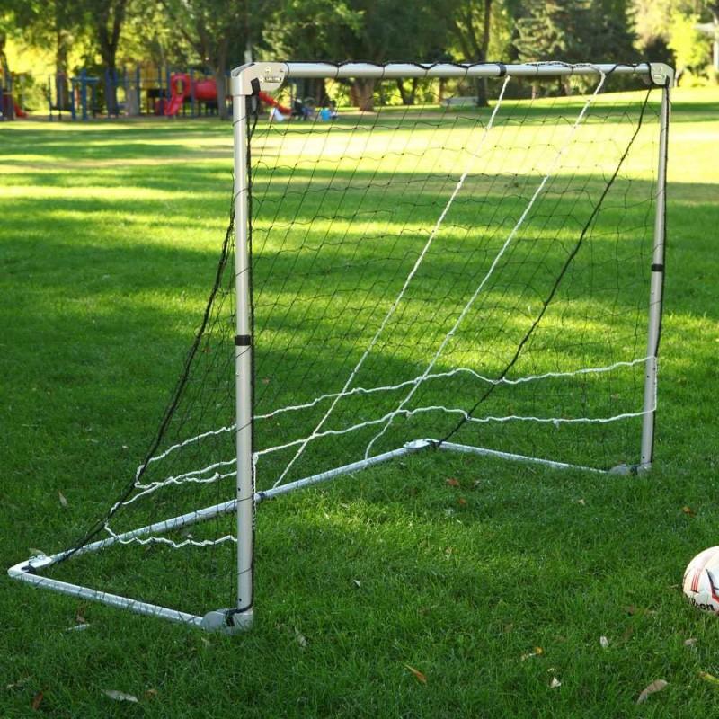 Lifetime 7x5 ft Adjustable Height Portable Soccer Goal (90046)
