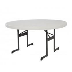 Lifetime Professional 60 in. Round Table (Almond) 80252