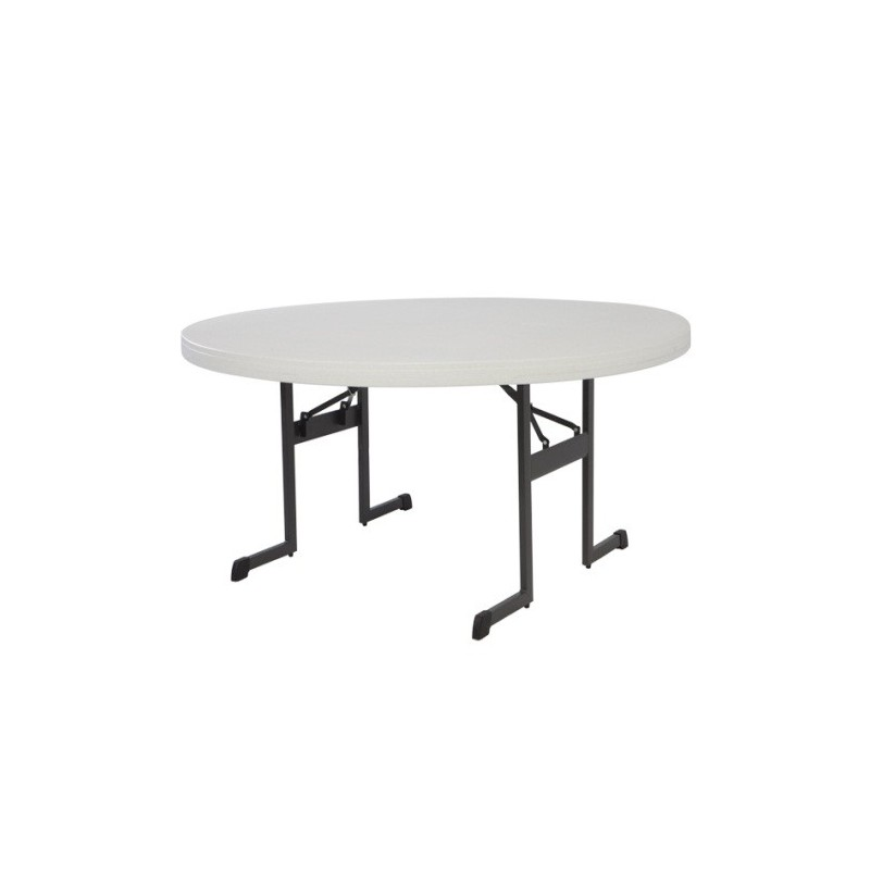 Lifetime 60 in. Professional Round Table - Almond (80252)