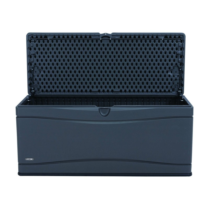 Lifetime Heavy Duty 130 Gallon Outdoor Storage Deck Box 60298