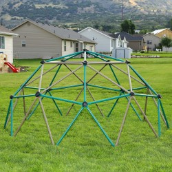 Lifetime Kids Metal Dome Climber - Green and Tan (90136)