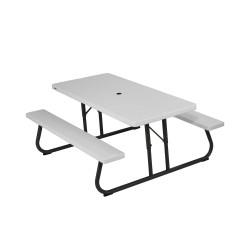 Lifetime 6 ft Folding Picnic Table - White (80215)