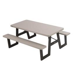 Lifetime A-Frame Folding Picnic Table - Putty (60030)