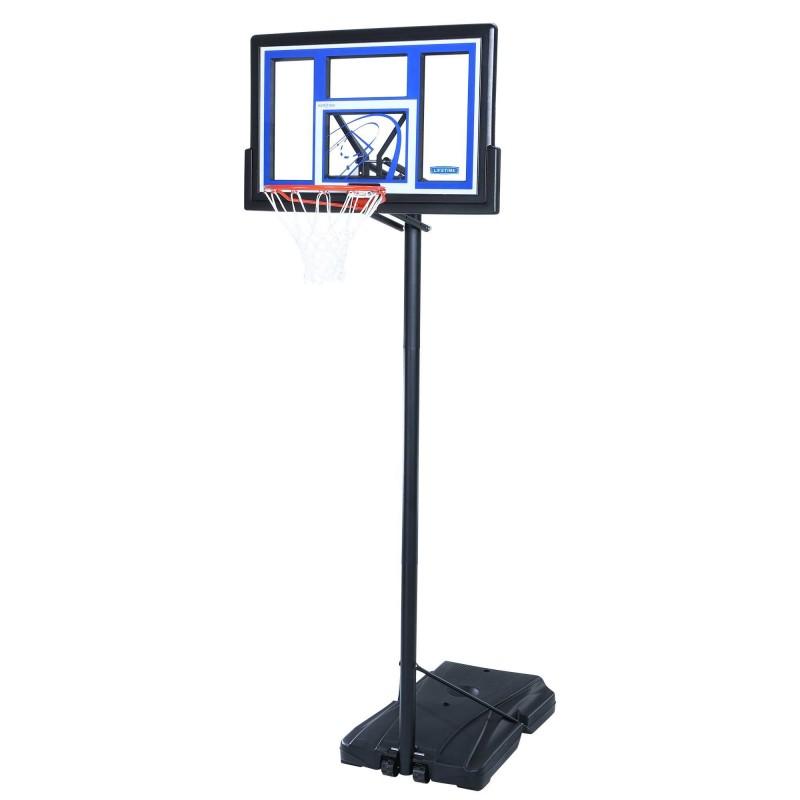Lifetime 48 in. Courtside Portable Basketball Hoop (1479)