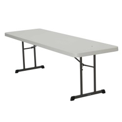 Lifetime 18-Pack 8 ft Professional Grade Folding Table - Almond (880250)