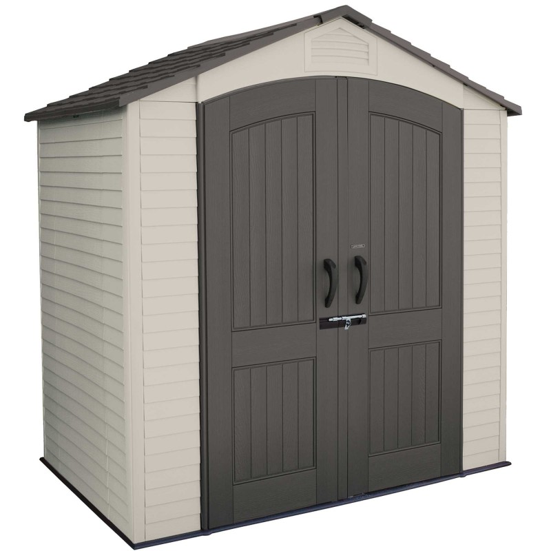Lifetime 7x4.5 ft Plastic Outdoor Storage Shed Kit (60057)