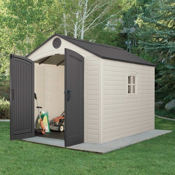 Lifetime 8x10 ft Outdoor Storage Shed Kit (6405)