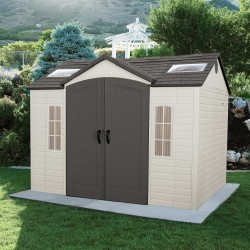 Lifetime 10x8 ft Garden Storage Shed Kit (60005)