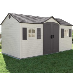 Lifetime 15x8 ft Garden Storage Shed Kit (6446)