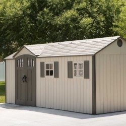 Lifetime 17.5 Ft. x 8 Ft. Outdoor Storage Shed (60214)