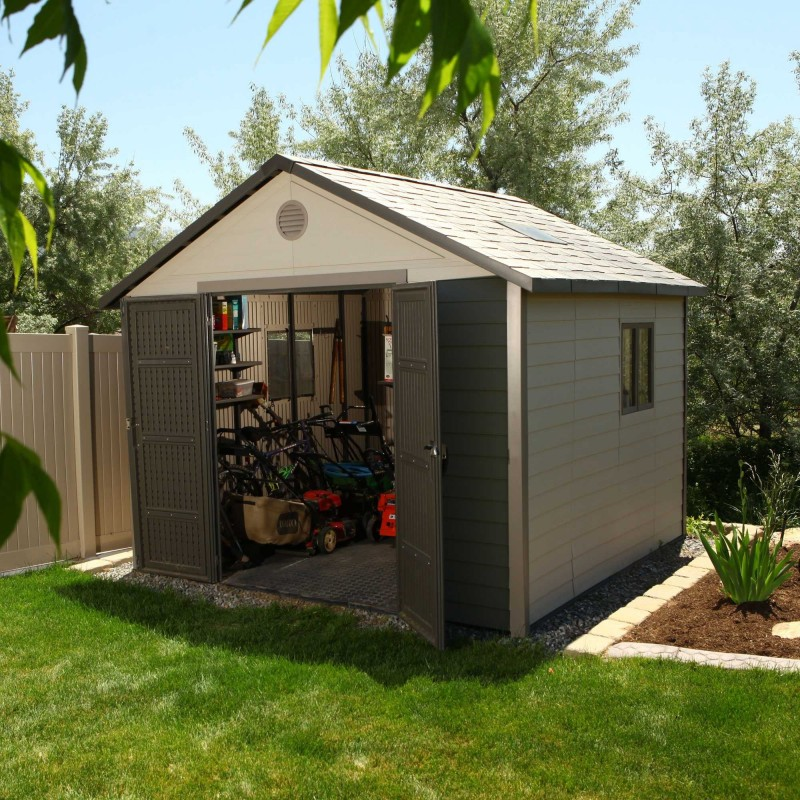 Lifetime 11x11 ft Outdoor Storage Shed Kit (6433)