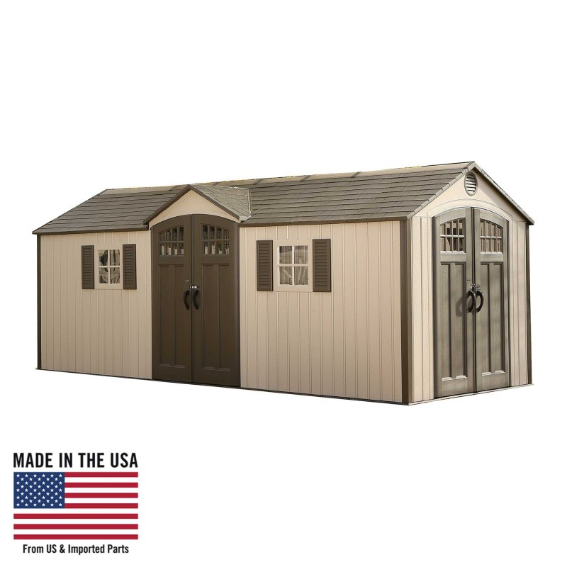Lifetime 20x8 New Style Storage Shed Kit w/ Floor (60127)