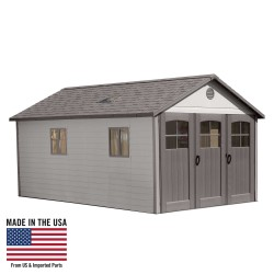 Lifetime 11x18.5 ft Storage Garage Shed Kit (60236)