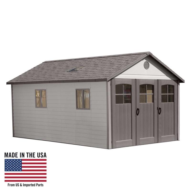 Lifetime 11x18.5 ft Storage Garage Shed Kit (60236)